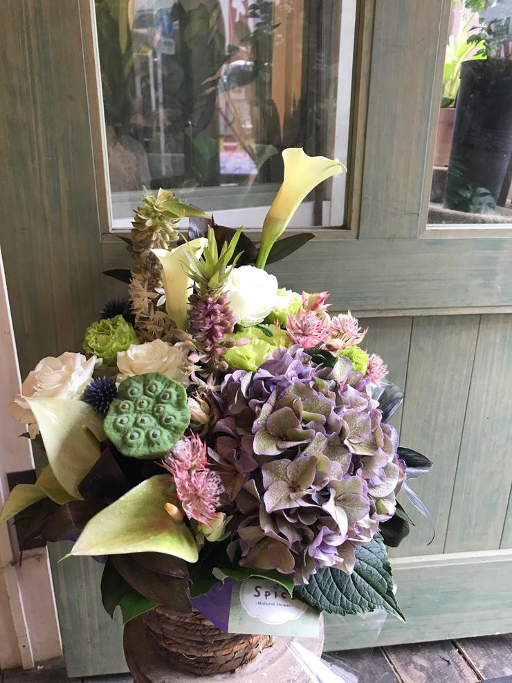 店舗リニューアル祝い花