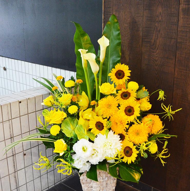 リニューアルオープン祝い花