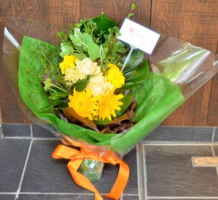 バースデーライブ花束