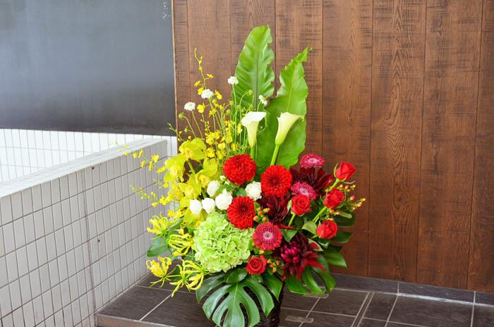 会社設立祝い花