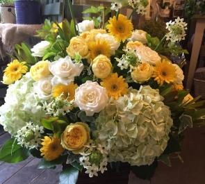 飲食店開店祝い花