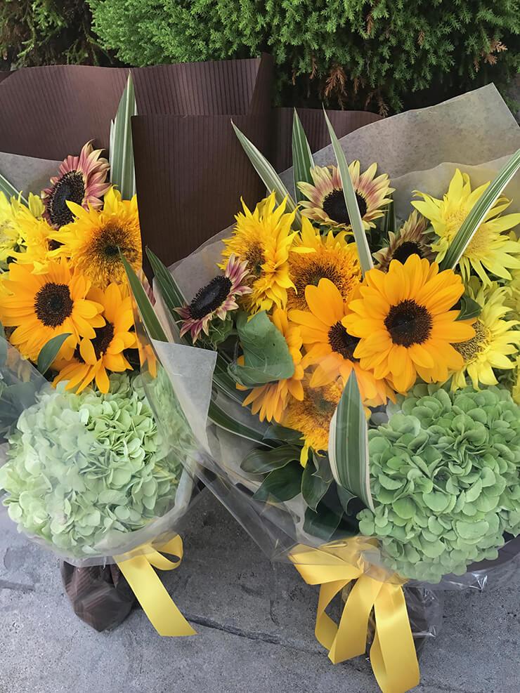 結婚式両親贈呈用花束