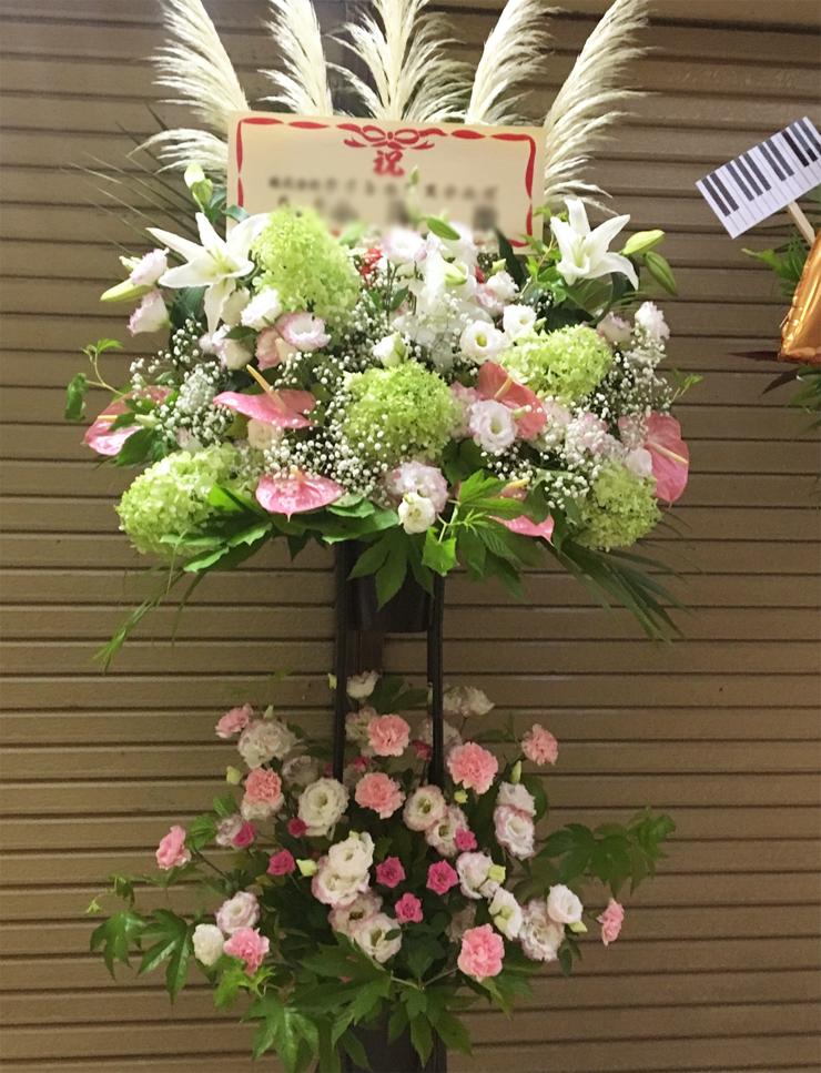 ライブ公演スタンド花
