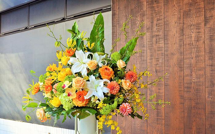 15周年アニバーサリーコンサート祝いスタンド花