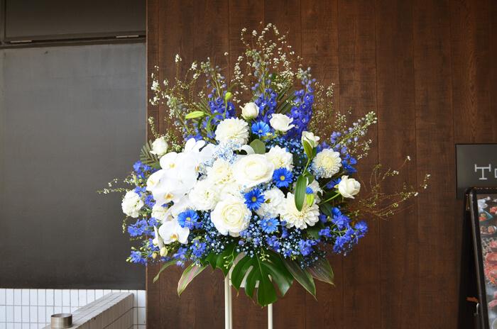 受賞祝いスタンド花