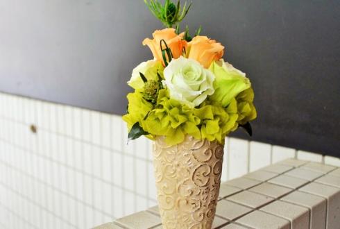 開店祝い花プリザーブドフラワー