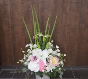 複合商業施設開設式祝い花
