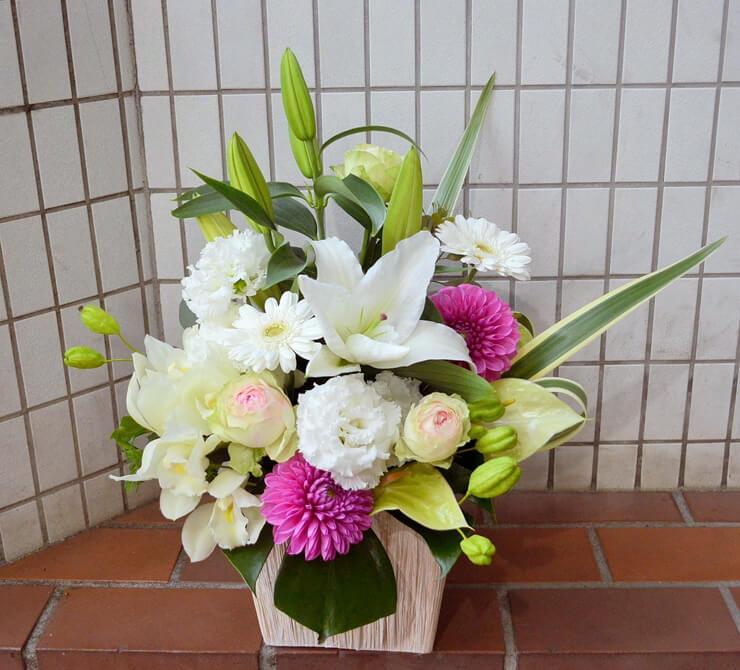 昇進祝い花