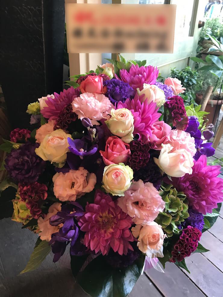 上場祝い花