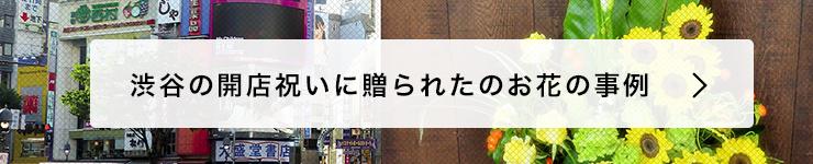 渋谷開店祝いに贈る花