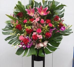 20周年記念公演祝いスタンド花