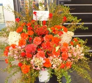 フロアオープン祝い花