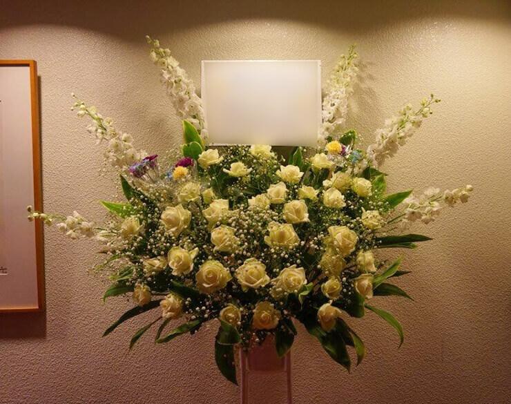 ライブイベントスタンド花