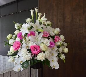 2周年記念祝いスタンド花