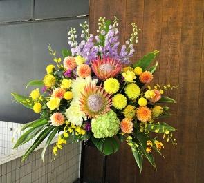 誕生日パーティースタンド花