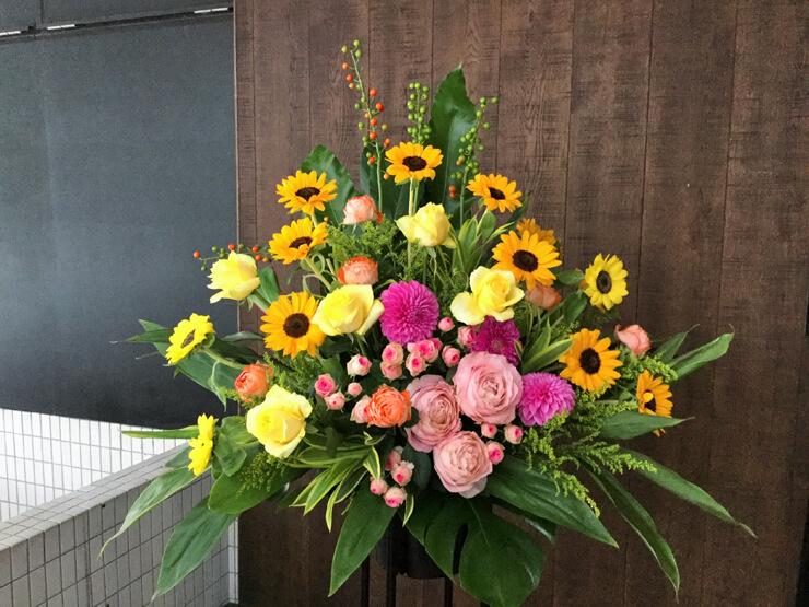 美容室開店祝いスタンド花