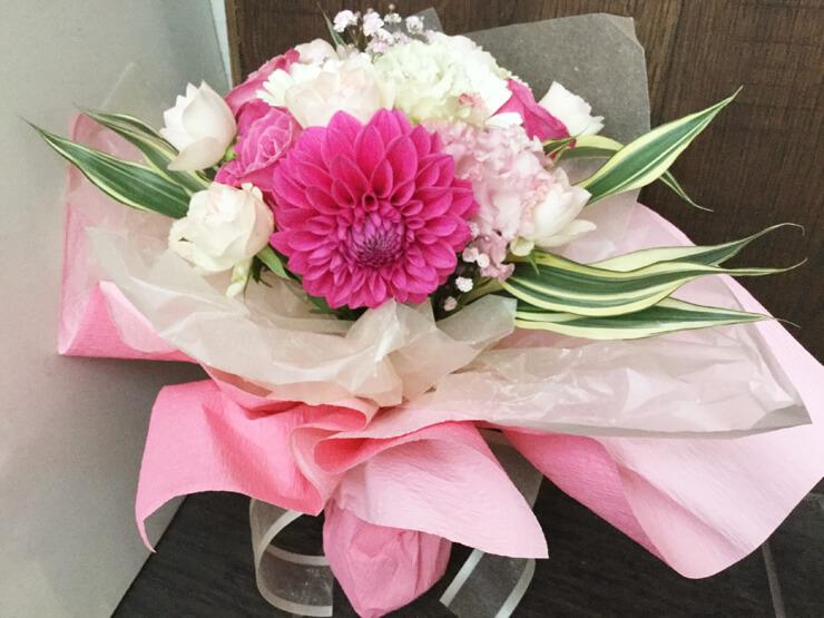 出産祝い退職祝い花束
