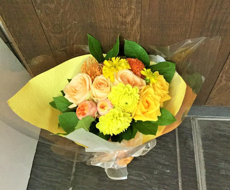 退職祝い花束