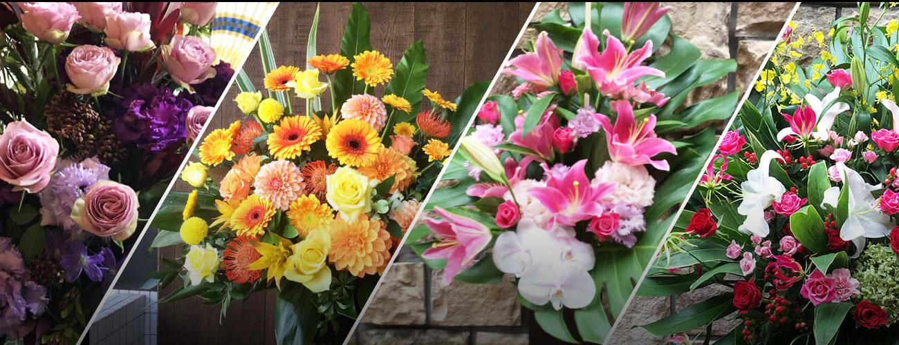 赤坂REDシアターに贈る花