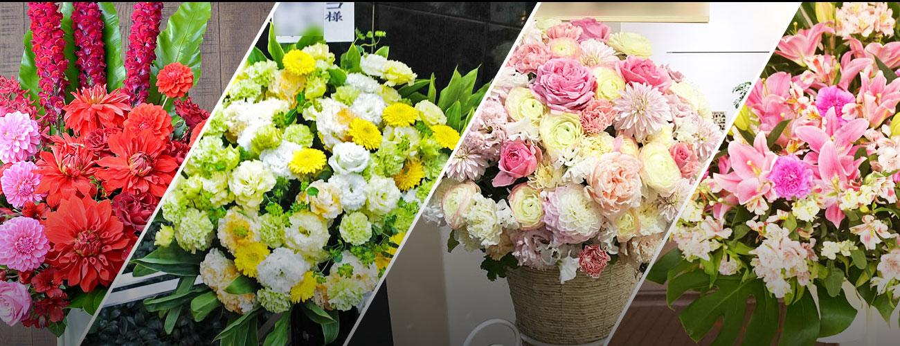BLUES ALLEY JAPANに贈る花