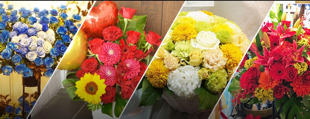 CBGKシブゲキ!!に贈る花