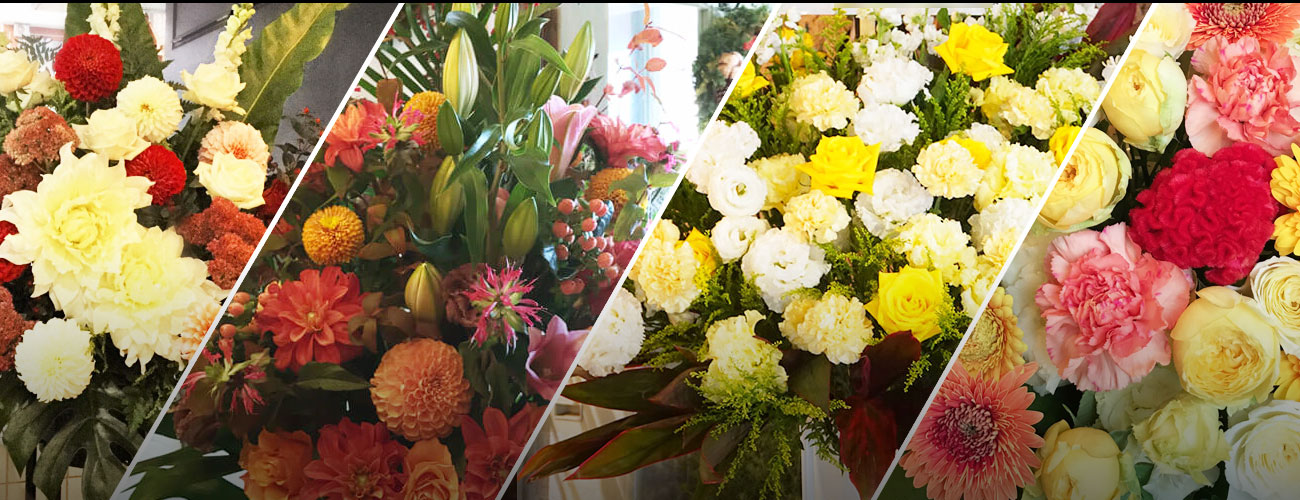 duo MUSIC EXCHANGEに贈る花