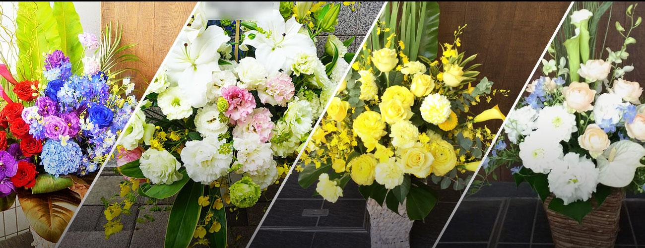 銀座博品館劇場に贈る花