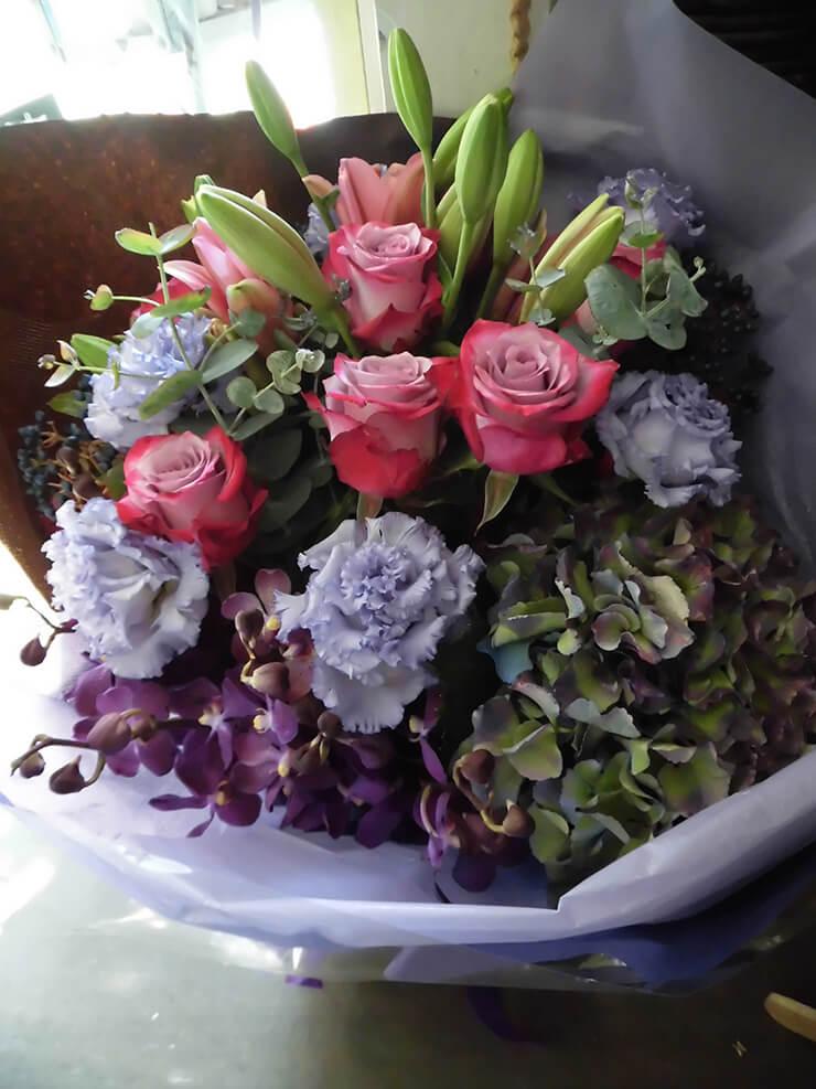 誕生日プレゼント花束