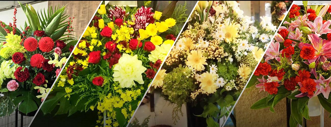 LIQUIDROOMに贈る花