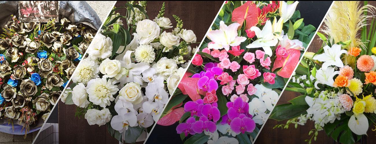 渋谷TsutayaO-westに贈る花