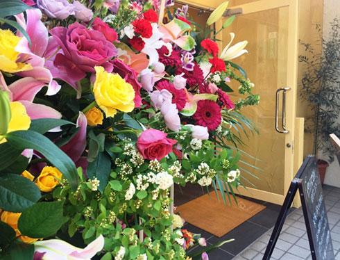池袋 開店祝い 花