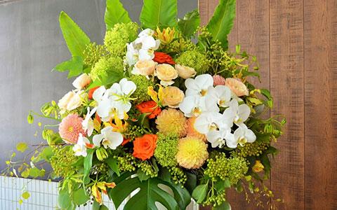 Zeppブルーシアター六本木に贈る花