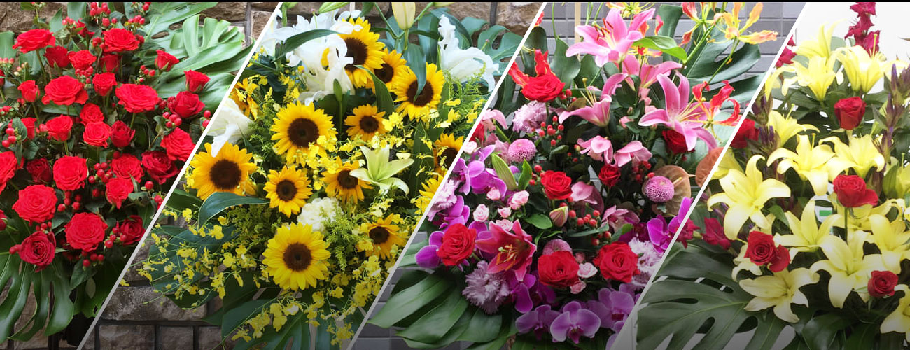 Zeppダイバーシティ東京に贈る花