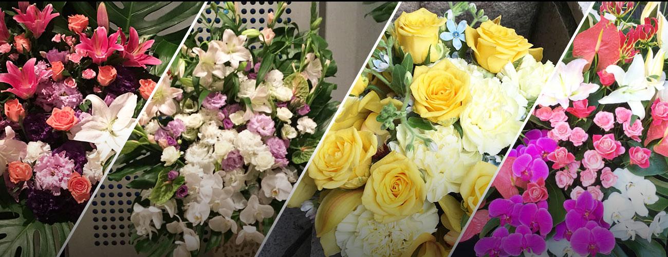 Zepp東京に贈る花