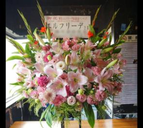 ライブ公演祝いスタンド花