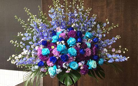 赤坂ACTシアターに贈る花
