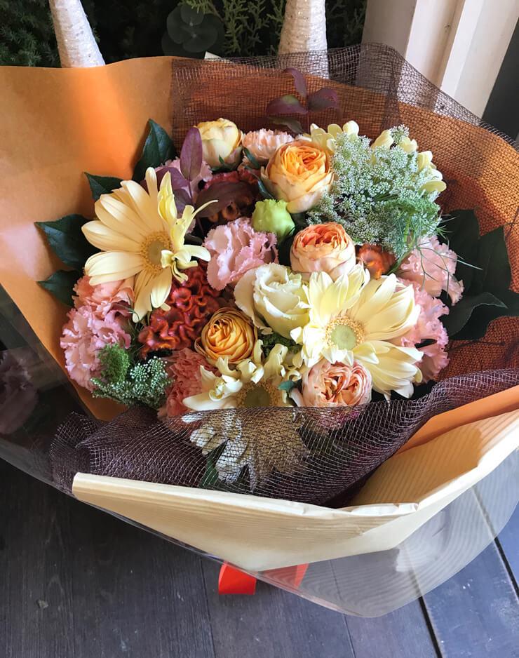 出産祝い花束