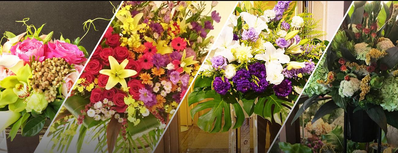 下北沢本多劇場に贈る花