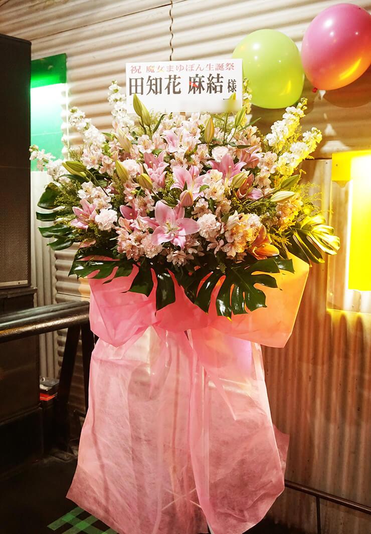生誕祭イベントスタンド花