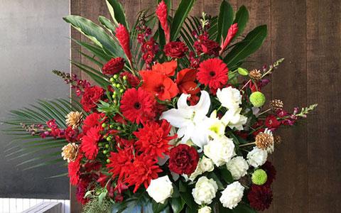 中目黒キンケロ・シアターに贈る花