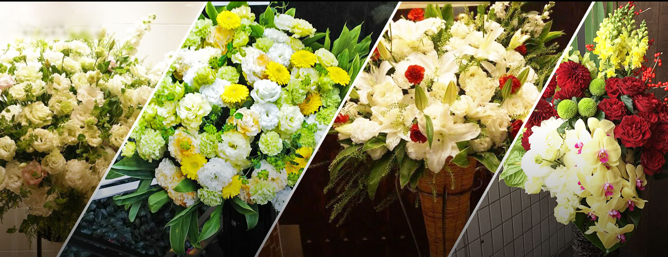 ルミネtheよしもとに贈る花