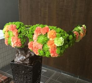 イベントメガネ型メタルスタンド花