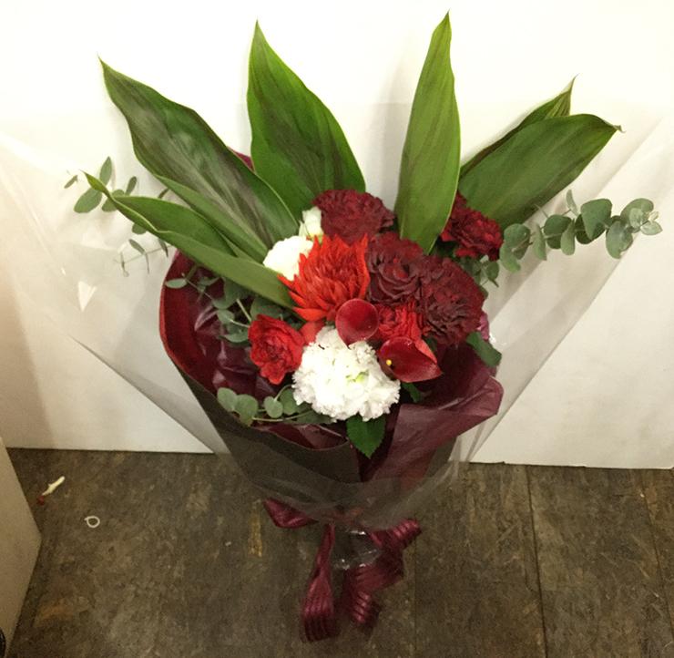 お祝い生花花束