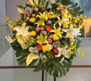 渋谷さくらホール Adam's 大田翔様のライブ公演祝いスタンド花