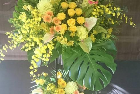美容室 BLKICHY様の開店祝いスタンド花
