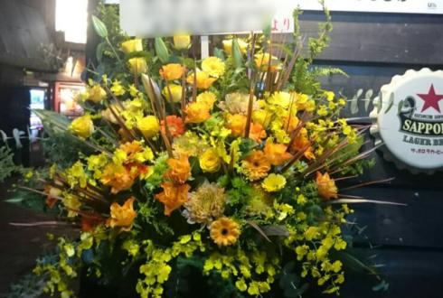 練馬開店祝いコーンスタンド花