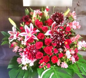 アップスアカデミー卒業公園祝い&設立20周年祝いスタンド花