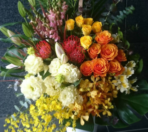 池袋 有心会 クリア歯科様の開院祝い花