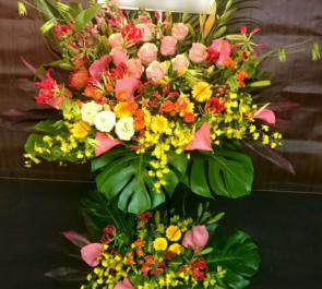 練馬 (N)Cafe Nbar様の開店祝いスタンド花