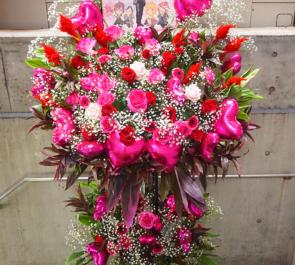 Jupiter ZIN様のライブバルーンスタンド花